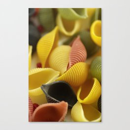 Colorful Pasta  Canvas Print