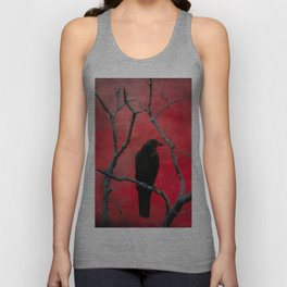 The Color Red Unisex Tank Top