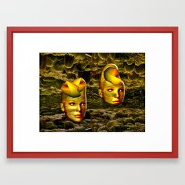 The Underworld Framed Art Print