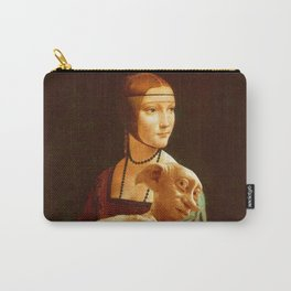 Lady With Dobby Carry-All Pouch