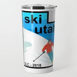 ski utah Travel Mug