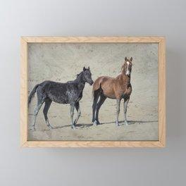 Mud Stockings Framed Mini Art Print