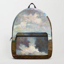 Granville Redmond - Coastal storm - Digital Remastered Edition Backpack
