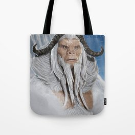 The Great White Ape Tote Bag