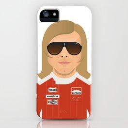 James Hunt iPhone Case