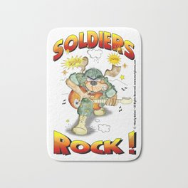SOLDIERS ROCK NOBKGRND Bath Mat