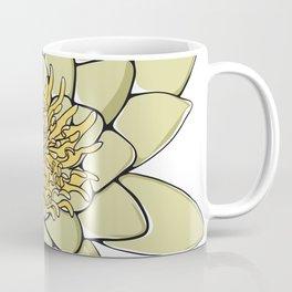 Nenuphar White Water Lily Flower Coffee Mug