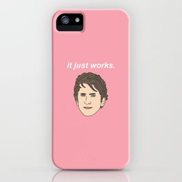 Todd Howard It Just Works iPhone Case