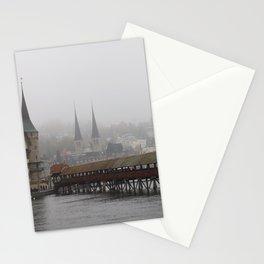 HAZY LUZERN Stationery Cards