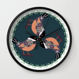 A Circle of fun Wall Clock