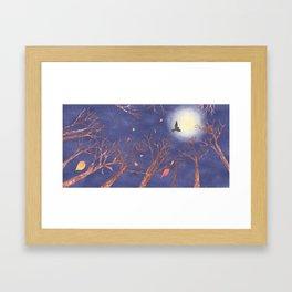 A Blast of Late Autumn Wind | Miharu Shirahata Framed Art Print