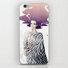 La Robe Zèbre iPhone & iPod Skin
