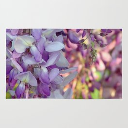 The scent of wisteria Rug