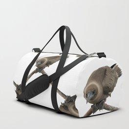 Curious young boobie Duffle Bag