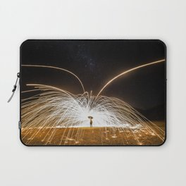 fire rain Laptop Sleeve