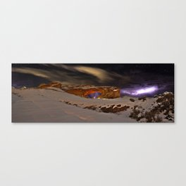 Stormy Arch Canvas Print
