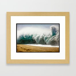 Surf Photography:Add water Framed Art Print