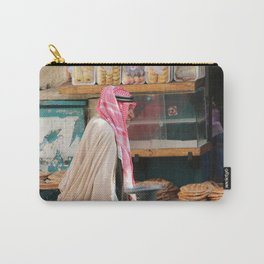 Old Arab man heading to the Manger square, Bethlehem Carry-All Pouch