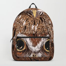 Painted Owl Backpack