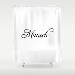 Munich Shower Curtain