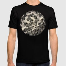 UNTITLED 1 SMALL Black Mens Fitted Tee