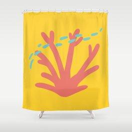 Coral Series:Fantasy Fan Shower Curtain