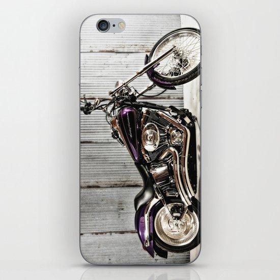 Purple Harley Softail iPhone Skin