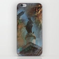 Rome Statues with color iPhone & iPod Skin