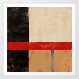 Color grid 2 Art Print