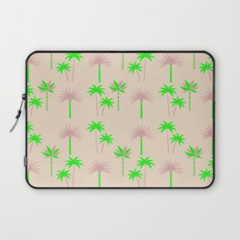 Palm Trees - Green & Neutral Laptop Sleeve
