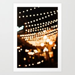 Evenings in the Alley Art Print