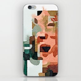 Fab Four (John) Abstract Watercolor Painting iPhone Skin