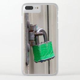Padlocks Clear iPhone Case
