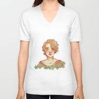 apollo V-neck T-shirts featuring Apollo I by chazstity
