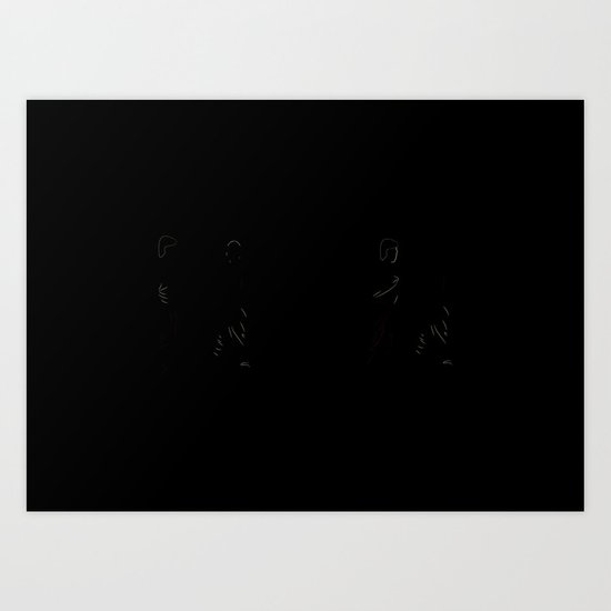 The Distrac-a-Attack Art Print