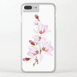 Flowers 10 Clear iPhone Case