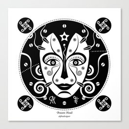 Brazen Head Canvas Print