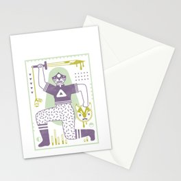Victory! in Pastel Stationery Cards