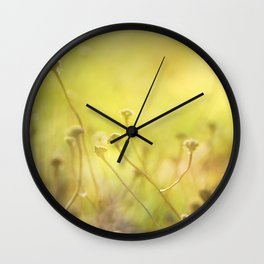Looking for the sun Wall Clock