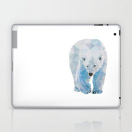 Geometric Polar Bear Laptop & iPad Skin