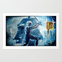 peter pan Art Prints featuring Peter Pan by ANoelleJay