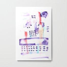 170603 Watercolour Colour Study 2 Metal Print