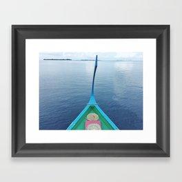 Silky Seas Framed Art Print