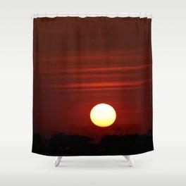 Tanzania Sunset Shower Curtain