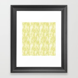 Soft Seaweed Framed Art Print