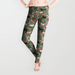 Farm gifts chickens cattle pigs cows sheep pony horses farmer homesteader Leggings