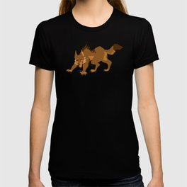 Drip and Drool - Werewolf  (Brown) T-shirt