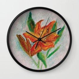 Flor III (Flower III) Wall Clock