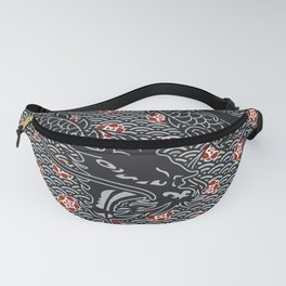Hidden Dragon / Oriental dragon design Fanny Pack