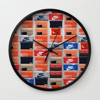 nike Wall Clocks featuring Nike Boxes by I Love Decor